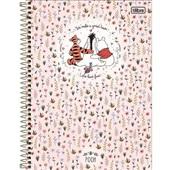 Caderno Universitário Capa Dura 10 Matérias 160 FL Pooh B 1 UN Tilibra