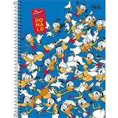 Caderno Universitário Capa Dura 10 Matérias 160 FL Donald B 1 UN Tilibra