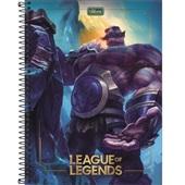 Caderno Universitário Capa Dura 80 FL League of Legends B 1 UN Tilibra