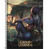 Caderno Universitário Capa Dura 80 FL League of Legends D 1 UN Tilibra