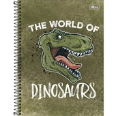 Caderno Universitário Capa Dura 160 FL Raptor D 1 UN Tilibra