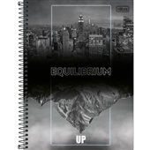 Caderno Universitário Capa Dura 160 FL Up D 1 UN Tilibra