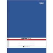 Caderno Quadriculado 7x7mm Capa Dura Académie Azul 96 FL 1 UN Tilibra