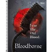 Caderno Universitário Capa Dura 10 Matérias 160 FL BloodBorne A 1 UN Tilibra