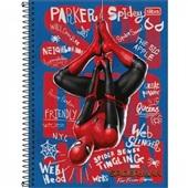 Caderno Universitário Capa Dura 10 Matérias 160 FL Spider-Man B 1 UN Tilibra