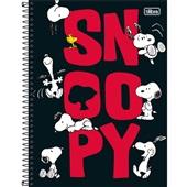 Caderno Universitário Capa Dura 10 Matérias 160 FL Snoopy B 1 UN Tilibra