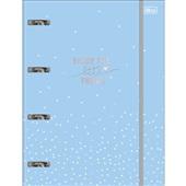 Caderno Argolado Universitário Cartonado com Elástico 80 FL Soho 1 UN Tilibra