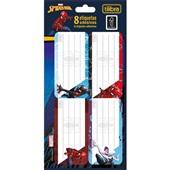 Etiqueta Escolar Adesiva Spider Man 8 UN Tilibra