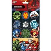 Adesivos Decorados Avengers Tilibra