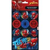 Adesivos Decorados Spider Man Tilibra