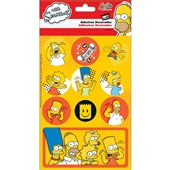 Adesivos Decorados Simpsons Tilibra