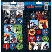 Adesivos Decorados Duplo Avengers Grafon's Tilibra