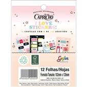 Bloco Adesivo Decorado Capricho Grafon's 12 FL Tilibra