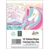 Bloco Adesivo Decorado Blink Grafon's 12 FL Tilibra