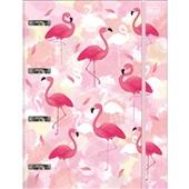 Caderno Argolado Cartonado Universitário com Elástico 80 FL Aloha 1 UN Tilibra