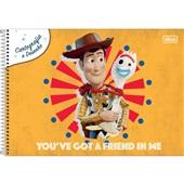 Caderno Cartografia e Desenho Capa Dura 80 FL Toy Story A 1 UN Tilibra