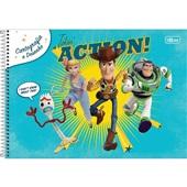 Caderno Cartografia e Desenho Capa Dura 80 FL Toy Story B 1 UN Tilibra