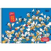 Caderno Cartografia e Desenho Capa Dura 80 FL Donald A 1 UN Tilibra