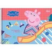 Caderno Cartografia e Desenho Capa Dura 80 FL Peppa Pig A 1 UN Tilibra