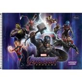 Caderno Cartografia e Desenho Capa Dura 80 FL Avengers Endgame A 1 UN Tilibra