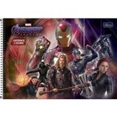 Caderno Cartografia e Desenho Capa Dura 80 FL Avengers Endgame B 1 UN Tilibra