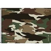 Caderno Cartografia e Desenho Capa Dura 80 FL Hide B 1 UN Tilibra