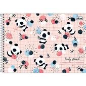 Caderno Cartografia e Desenho Capa Dura 80 FL Lovely A 1 UN Tilibra