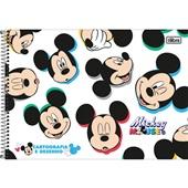 Caderno Cartografia e Desenho Capa Dura 80 FL Mickey A 1 UN Tilibra