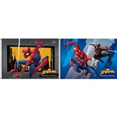 Caderno Cartografia e Desenho Capa Dura 80 FL Spider Man Sortido 1 UN Tilibra