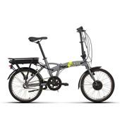 Bicicleta Elétrica Easy E-Urban 2020 Aro 20 Cinza Quadro Tamanho Único