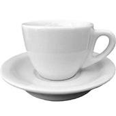 Xícaras de Café com Pires Coquinho 65ml com 12 Peças Sam Master