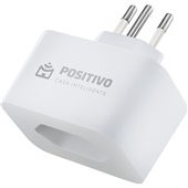 Adaptador de Tomada Smart Plug Wi-Fi 10A Bivolt 1 UN Positivo