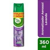 Odorizador de Ambiente Lavanda Embalagem Econômica 360ml 1 UN Bom Ar