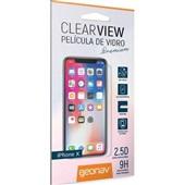 Película de Vidro Temperado para iPhone X 1 UN Geonav