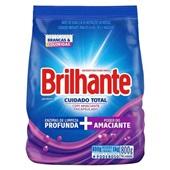 Detergente em Pó Cuidado Total 800g 1 UN Brilhante