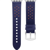 Pulseira Apple Watch 38 a 40mm Azul e Laranja 1 UN Geonav