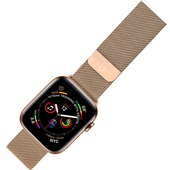 Pulseira Apple Watch Milanese 38 a 40mm Dourado 1 UN Geonav