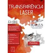 Transparência Laser sem Tarja A4 CX 50 FL Mares