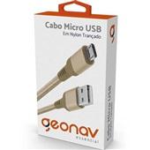 Cabo Micro USB Essential 1m Gold 1 UN Geonav