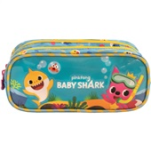 Estojo Duplo Baby Shark Family 1 UN Xeryus