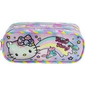 Estojo Duplo Hello Kitty Rainbow 1 UN Xeryus