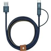 Cabo Micro USB e Tipo C 1,5m Jeans 1 UN i2GO