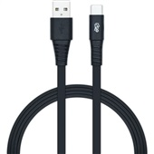 Cabo USB e Tipo C 1,2m Preto 1 UN i2GO