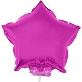 Balão Estrela com Vareta N°11 Pink 1 UN Funny Fashion