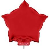 Balão Estrela com Vareta N°11 Vermelho 1 UN Funny Fashion