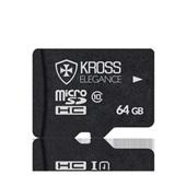 Cartão de Memória 64GB Micro SD Classe 10 1 UN Kross Elegance