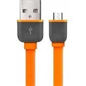 Cabo Micro USB Smartogo 1m Laranja 1 UN Multilaser