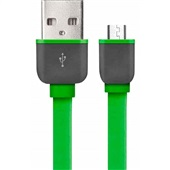 Cabo Micro USB Smartogo 1m Verde 1 UN Multilaser
