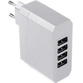 Carregador de Tomada 4 Entradas USB Bivolt 4.8A CB076 1 UN Multilaser