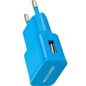 Carregador de Tomada Smartogo USB Azul CB080A 1 UN Multilaser